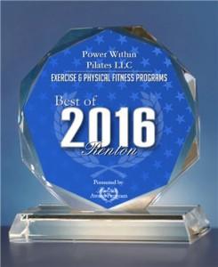 PWP Award 2016